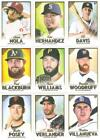 2018 TOPPS GALLERY SINGLES W/RC'S ***YOU PICK*** #'S 1 - 75