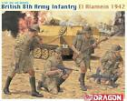Dragon 1/35 British 8th Army Infantry, El Alamein 1942 4 Figures Model Kit 6390