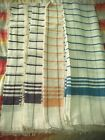 Laoag Hand Woven Light Blankets from Philippines_Double image