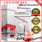 SketchUp Pro 2018 Full🔑Style Builder 2018🔑LayOut 2018 📩Windows+ Mac+ Portable
