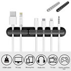Cable Clip Desktop USB Cable Winder Wire Organizer Cable Cord Holder for 7 Cable