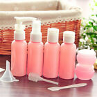 Внешний вид - 9pcs Refillable Bottles Kit Travel Size Liquid Foundation Lotion Bottle Set PF
