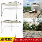 Garden Pergola Retractable Gazebo Outdoor Canopy Shade Roof 2 Type Durable CHIC
