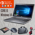 Ultra Fast Windows 10 Dell Core I5 Laptop Wifi Free P&p With Colours