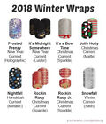 NEW Jamberry Nail Wraps 2018 Winter/Christmas ~ Full or Half Sheets ~ FREE SHIP!