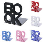2 Pcs Alphabet Book Shaped Metal Bookends -- Free Shipping