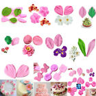Flower Petal Leaf Silicone Fondant Molds Cake Decoration Sugarcraft Baking Mould