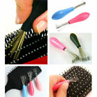Hot New Hair Brush Comb Cleaner Cleaning Handle Embedded Home Use Tool O17