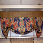 To order Made To Order French Country Burlap And Your Choice Of The Fabric Valance