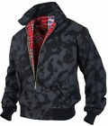 Pro Company Bomberjacke Harrington English Karofutter Winterjacke Night Camo