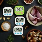 LCD Digital Kitchen Cooking Timer Large Magnetic Count-Down Up Clock Loud Alarm