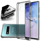Shockproof Clear TPU Bumper Case Fits Galaxy Note 9 8 5 S6 S7 S8 S9 S10 Plus
