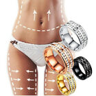 Weight Loss Crystal Rhinestone Ring Slimming Healthcare Ring Magnetic Jewelry ..