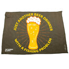 Fishing Funny Microfiber Hand Towel - Just Another Beer Drinker Problem