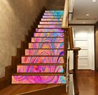 3D Colorful Texture 31 Tile Marble Stair Risers Decoration Mural Vinyl Wallpaper