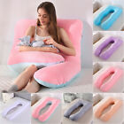 Oversized U-Shape Pregnancy Pillow Full Body Support Maternity Pillow or Cover  image