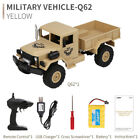 1:16 JJRC Q62 RC 2.4G Remote Control 4WD Tracked Off-Road Military Truck Car RTR