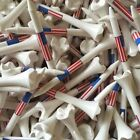 "Pride Evolution USA American Flag 2 3/4"" 2.75 Golf Tees White - You Choose the #"