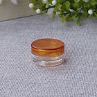 10Pcs 5ml Cosmetic Empty Jar Pot Eyeshadow Makeup Face Cream Container Bottle PP