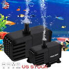 Aquarium Water Pump Fish Tank Powerhead Fountain HydroponicFish Supplies Hot US