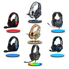 Kyпить SADES Gaming Headset PS4 Xbox One Headphone PC Earphone 3.5mm Stereo Sound w Mic на еВаy.соm