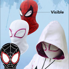 Внешний вид - US! Spider-Man: Into the Spider-Verse Unisex Visible Respirable Full Mask Hood