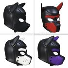Dog Puppy Head Hood Mask Quality Neopreme Full Face Snout Ears Costume Party New