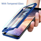 For Xiaomi Mi Max 3 Mix 2 With Tempered Glass 360° Protection Hard PC Case Cover