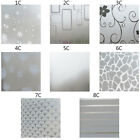 Waterproof Glass Frosted Bathroom window Privacy Self Adhesive Film Sticker