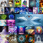 Внешний вид - 5D Diamond Painting Embroidery Cross Crafts Stitch Kit Home Art Decor DIY Gifts
