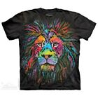 Mane Lion T-Shirt by The Mountain. Big Face Tee Sizes S-5XL NEW image