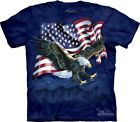 Eagle Talon Flag T-Shirt by The Mountain. USA American Patriotic S-5XL NEW image