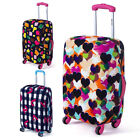 Honana HN-0802 Washable Luggage Cover Colorful Elastic Suitcase Cover Durable...