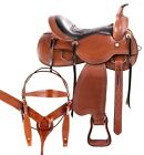 Used Western Saddles 15 16 17 18 Amazing Horse Trail Riding Tack Set