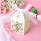 50-200X Wedding Marriage Present Gift Bag Birthday Party Favour Candy Boxes 75D