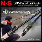NS BLACK HOLE ULTRA LIGHT TROUT FISHING SPINNING ROD APPROACH