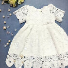 Princess Wedding Party Prom Birthday Dress Lace Tutu Dresses For Baby Girl 0-24M