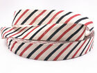 5-10 yards Printed Cotton Ribbon 25mm Handmade Gift Present Package DIY Sewing