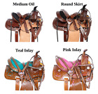 Youth Saddle Used 10 12 13 Western Pleasure Trail Kids Show Horse Pony Tack Set