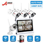 4CH 960P HD Wireless Camera Security System Outdoor 12