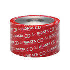 RIDATA Blank CD CD-R Logo Branded 700MB 52X Media Disc/ LOT =100 TO 1800 Discs