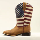 Внешний вид - Twister Double Barrel Jacob Flag Pattern Toddler Boot NEW