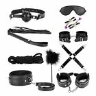 Adult Bondage Cuffs BDSM Toy for Couples Sex-toys Set 10 PCS