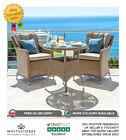 Nova Camilla 2 Seat Outdoor Garden Furniture 75cm Round Rattan Bistro Set