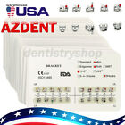10X AZDENT Dental Ortho Brackets Mini/Standard MBT/Roth 022/018 Hooks 3 4 5