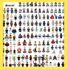 Star wars minifigures luke yoda boba fett clone darth maul vader droid R2 D2 3PO $1.69 USD on eBay
