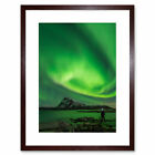 Northern Lights Lofoten Islands Norway Art Print Framed Poster Wall Decor