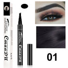 3D 4 Tip Waterproof Eyebrow Microblading Ink Pen Eyes Makeup Beauty Supply