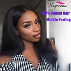 360 Wig Pre Plucked Brazilian Straight Full Lace Front Wigs Remy Human Hair Wigs