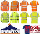 PORTWEST Hi-Vis Safety Polo Shirt, High-visibility T-shirt S178,S277,S477,S478